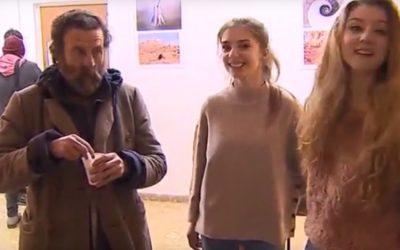 Jóvenes voluntarios del Albergue Ola de Frío de Cáritas La Rioja