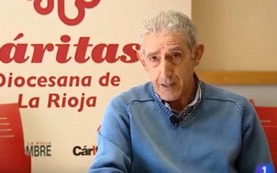 Luis Lleyda explica los objetivos y la misión de Cáritas La Rioja