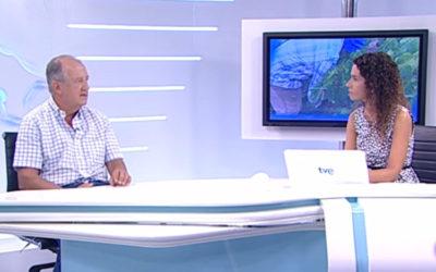 TVE entrevista a Joaquín Yangüela sobre la atención a temporeros