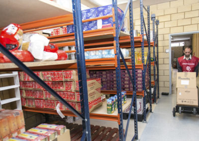 Imagen del Centro Unificado de Reparto de Alimentos