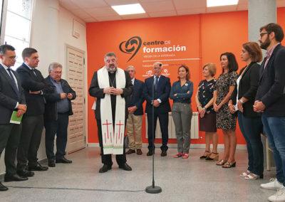 Bendición del Centro de Formación Virgen de la Esperanza