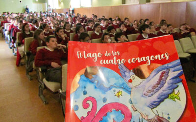 Cáritas La Rioja presenta el cuento 'El lago de los cuatro corazones'