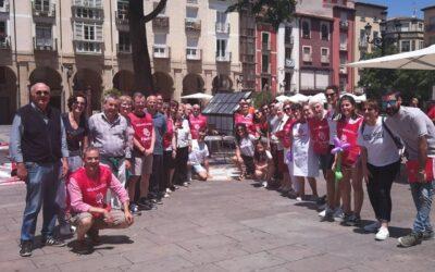 La plaza del Mercado acoge la Jornada Pública de Sensibilización de Cáritas La Rioja
