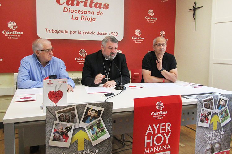 Cáritas La Rioja atendió en 2018 a 3.259 personas, benefició a 6.567 y destinó 253.301 euros a ayudas económicas directas