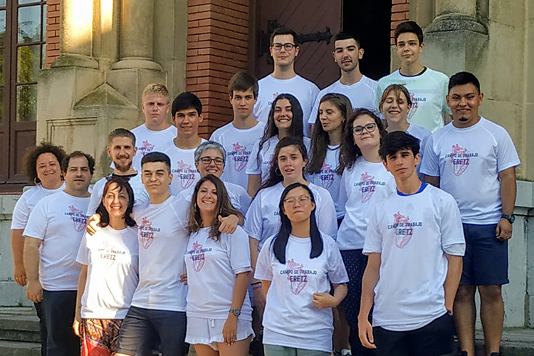 Dieciocho jóvenes colaboran con seis entidades sociales en el primer campo de trabajo de Cáritas La Rioja y Pastoral Juvenil