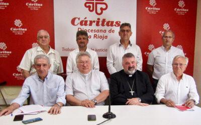 Fernando Beltrán, nuevo director de Cáritas La Rioja