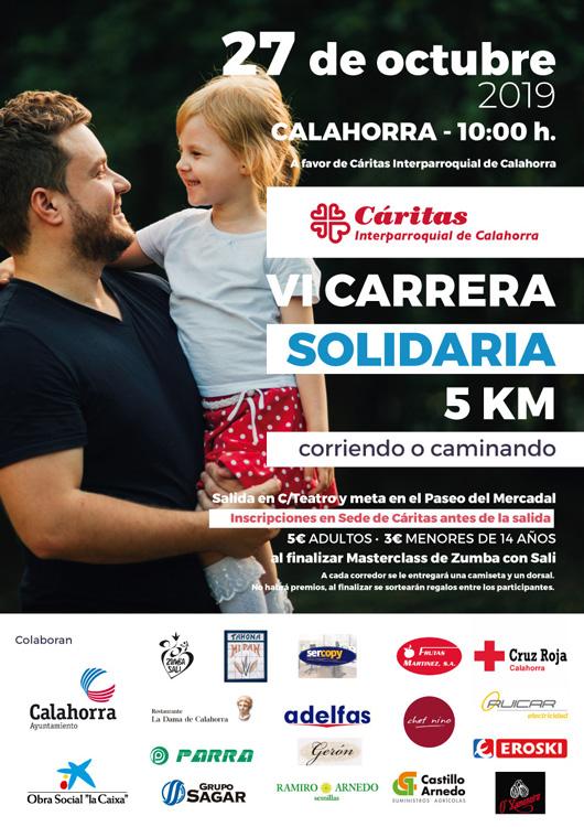 VI Carrera Solidaria Cáritas Calahorra @ Calahorra
