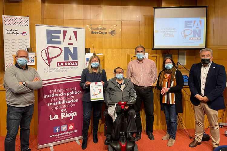 En 2020, 60.000 personas residentes en La Rioja, un 19% de la población, vivían en situación de pobreza o exclusión social